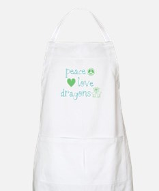 Peace, Love and Dragons Apron