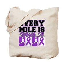 Epilepsy Every Mile Women Tote Bag
