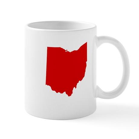 Red Ohio Mug