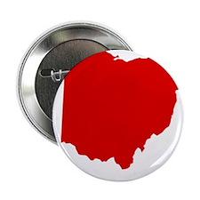 """Red Ohio 2.25"""" Button"""