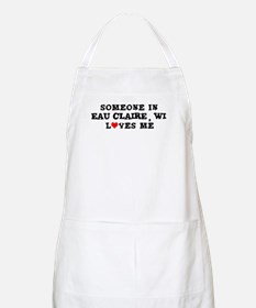 Someone in Eau Claire BBQ Apron