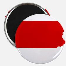 Red Pennsylvania Magnet