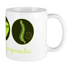 PEACE LOVE CHIROPRACTIC Mug