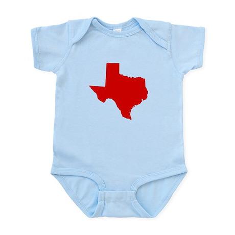 Red Texas Infant Bodysuit