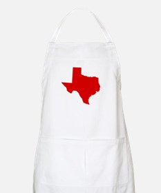 Red Texas Apron
