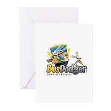 Cute Thrown under bus Greeting Cards (Pk of 10)