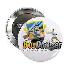"""Cute Thrown under bus 2.25"""" Button"""