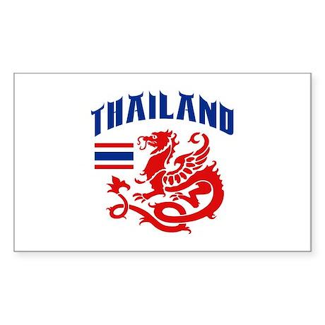 Thailand Sticker (Rectangle)