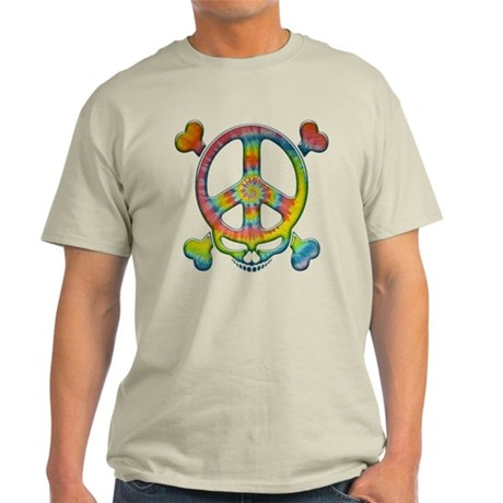 Tie-Dye Peace Pirate Light T-Shirt