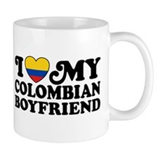 I Love My Colombian Boyfriend Mug