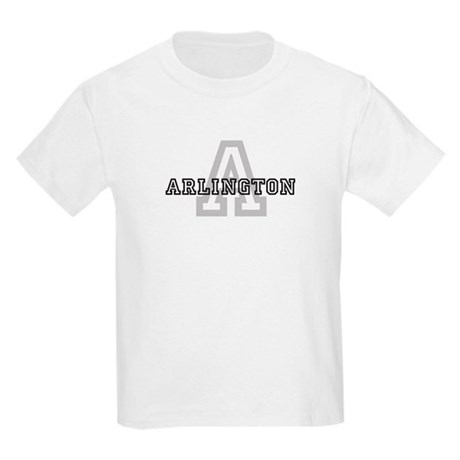 Letter A: Arlington Kids T-Shirt