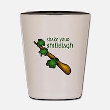 Shake Your Shillelagh Shot Glass