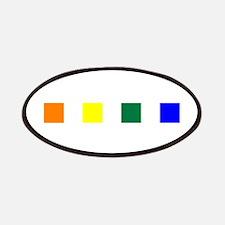 Rainbow Pride Squares Patches
