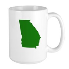 Green Georgia Mug