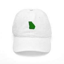 Green Georgia Baseball Cap