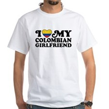 I Love My Colombian Girlfriend Shirt