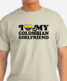 I Love My Colombian Girlfriend T-Shirt