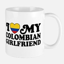 I Love My Colombian Girlfriend Mug