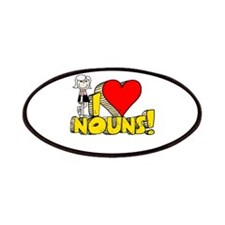 I Heart Nouns Patches