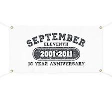 911 Anniversary Banner
