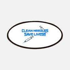 Clean Needles Save Lives Patches