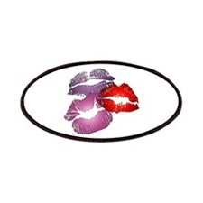 Three Big Lips Patches