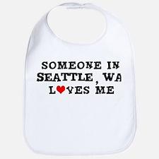 Someone in Seattle Bib