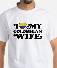 I Love My Colombian Wife Shirt