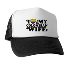 I Love My Colombian Wife Trucker Hat