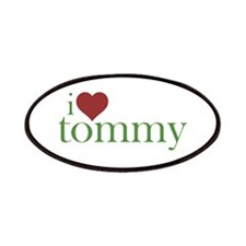 I Heart Tommy Patches