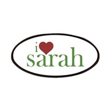 I Heart Sarah Patches