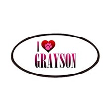I Heart Grayson Patches