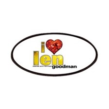 I Heart Len Goodman Patches