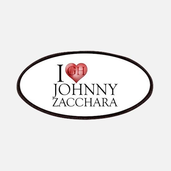 I Heart Johnny Zacchara Patches