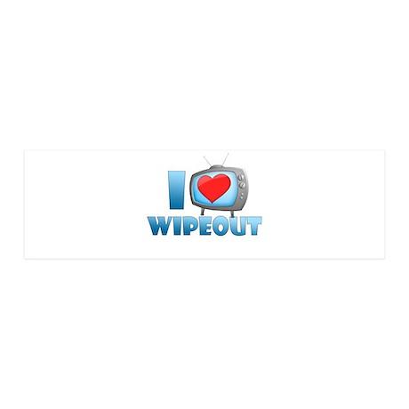 I Heart Wipeout 21x7 Wall Peel