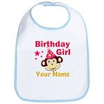 Birthday girl custom Bib