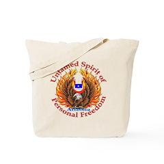 Untamed AZ Spirit Tote Bag