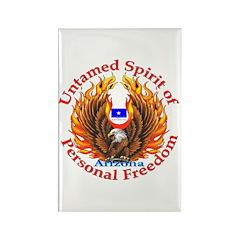 Untamed AZ Spirit Rectangle Magnet (10 pack)