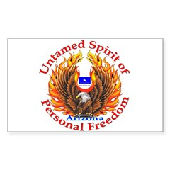 Untamed AZ Spirit Decal