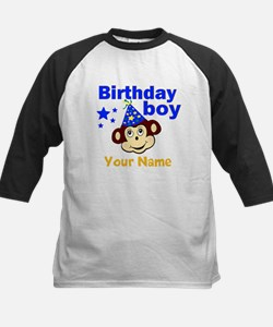 Birthday boy monkey custom Tee