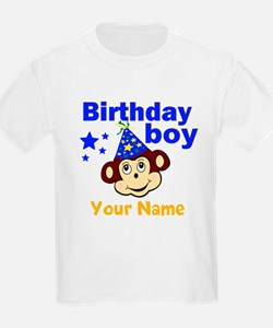 Birthday boy monkey custom T-Shirt