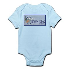 Crown King Infant Bodysuit