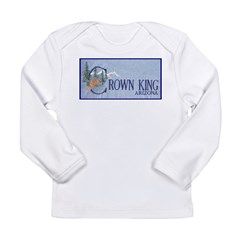 Crown King Long Sleeve Infant T-Shirt