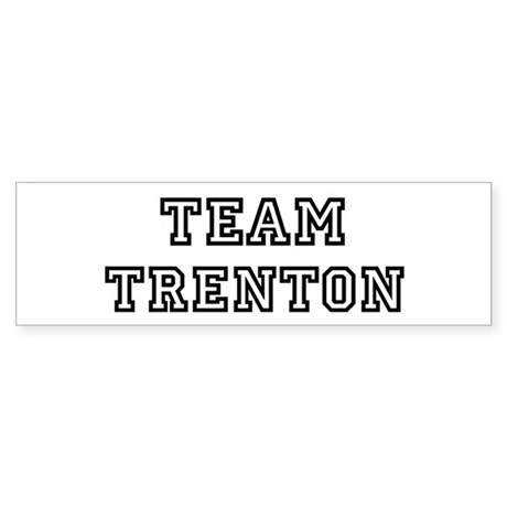 Team Trenton Bumper Sticker