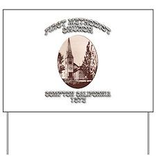 Compton Methodist Church Yard Sign