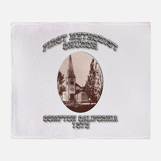 Compton Methodist Church Throw Blanket