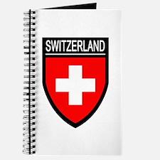 Switzerland Flag Patch Journal