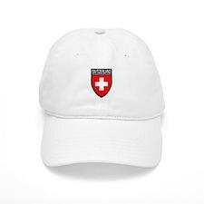 Switzerland Flag Patch Baseball Cap