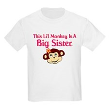 Big Sister Monkey T-Shirt
