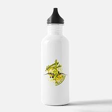Sarcoma Advocacy Rocks Water Bottle